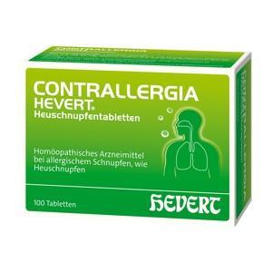CONTRALLERGIA Hevert Heuschnupfentabletten