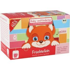 H&S Bio Baby- u.Kindertee Früchtefein Filterbeutel