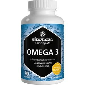 OMEGA-3 1000 mg EPA 400/DHA 300 hochdosiert Kaps.