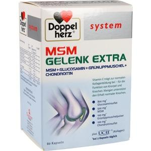 DOPPELHERZ MSM Gelenk extra system Kapseln
