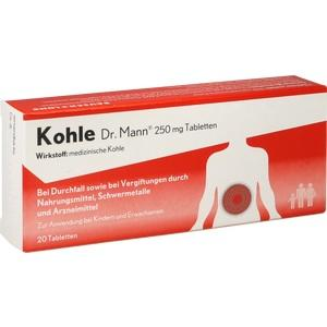 KOHLE Dr.Mann 250 mg Tabletten