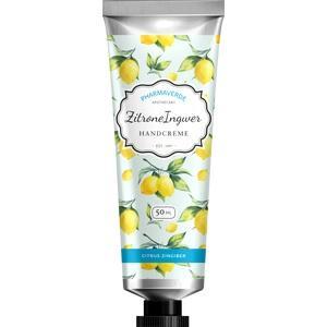 PHARMAVERDE Zitrone Ingwer Handcreme