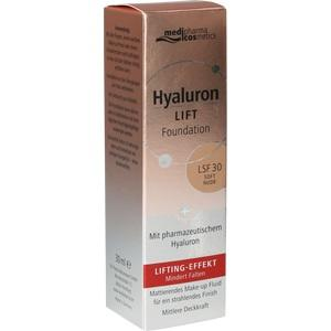 HYALURON LIFT Foundation LSF 30 soft nude