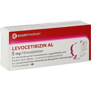 LEVOCETIRIZIN AL 5 mg Filmtabletten