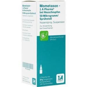 MOMETASON 1A Phar.b.Heuschnupfen 50μg/Spr.Stoß 140