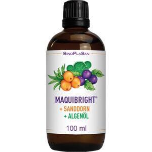 MAQUIBRIGHT+Sanddorn+Algenöl Tropfen zum Einnehmen