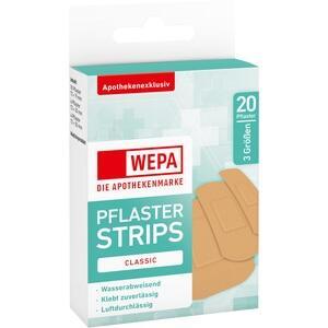 WEPA Pflasterstrips Classic wasserabweis.3 Größen