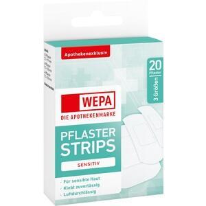 WEPA Pflasterstrips sensitiv 3 Größen