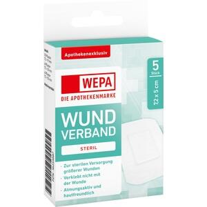 WEPA Wundverband 7,2x5 cm steril