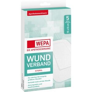 WEPA Wundverband 8x15 cm steril