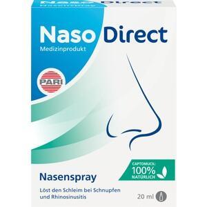 NASODIRECT Nasenspray mit Captomucil