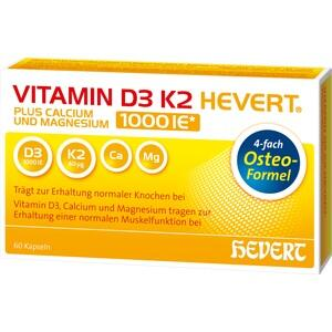 VITAMIN D3 K2 Hevert Plus Kapseln