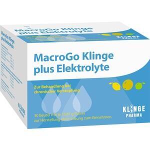 MACROGO Klinge plus Elektrolyte Plv.z.H.e.L.z.E.