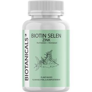 BIOTANICALS Biotin Selen Zink Kapseln