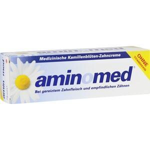 AMINOMED Kamillenblüten Zahncreme ohne Titandioxid