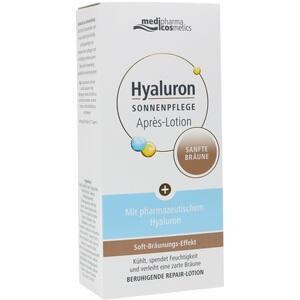 HYALURON SONNENPFLEGE Apres Lotion sanfte Bräune