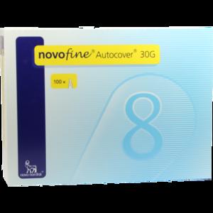NOVOFINE Autocover Kanülen 8 mm 30 G