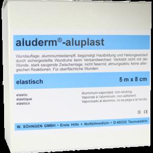 ALUDERM aluplast Wundverb.Pfl.8 cmx5 m elast.