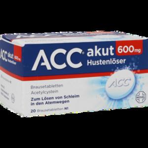 ACC akut 600 Hexal Brausetabletten