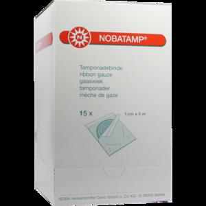 NOBATAMP-steril Tamponadebinde 1 cmx5 m