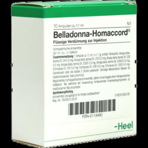 BELLADONNA HOMACCORD Ampullen
