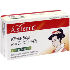 ALSIFEMIN Klima-Soja plus Calcium D3 Tabletten