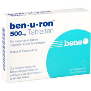 BEN-U-RON 500 mg Tabletten