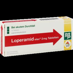 Loperamid elac 2mg Tabletten
