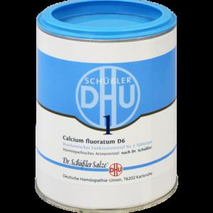 BIOCHEMIE DHU 1 Calcium fluoratum D 6 Tabletten