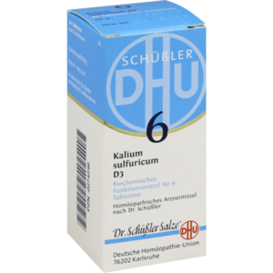 BIOCHEMIE DHU 6 Kalium sulfuricum D 3 Tabletten