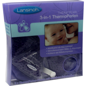 LANSINOH THERA PEARL 3in1 ThermoPerlen-Kissen