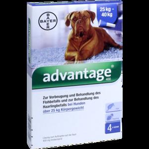 ADVANTAGE 400 Lösung Pipetten f.Hunde ab 25 kg