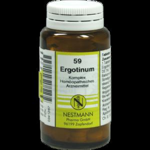 ERGOTINUM KOMPLEX Tabletten Nr.59
