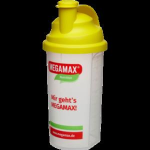 MEGAMAX Mixbecher gelb