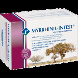 MYRRHINIL INTEST überzogene Tabletten