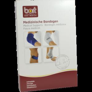 BORT KubiTal Ellenbogen-Polster-Bandage S blau