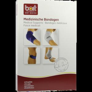 BORT KubiTal Ellenbogen-Polster-Bandage M blau