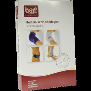 BORT KubiTal Ellenbogen-Polster-Bandage L blau