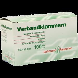 VERBANDKLAMMERN Lohmann hautfarben