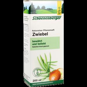 ZWIEBELSAFT naturrein Schoenenberger