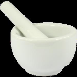MÖRSER Porzellan weiß
