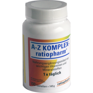 A-Z Komplex-ratiopharm Tabletten