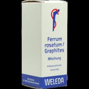 FERRUM ROSATUM/Graphites Mischung