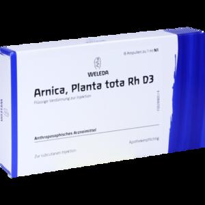 ARNICA PLANTA tota Rh D 3 Ampullen