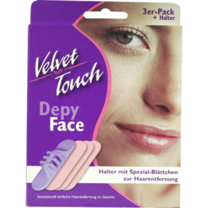 VELVET Touch Face 3er-Set