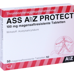 ASS AbZ PROTECT 100 mg magensaftresist.Tabl.