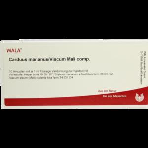 CARDUUS MARIANUS/VISCUM mali comp.Ampullen