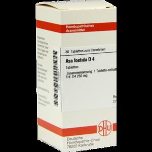 ASA FOETIDA D 4 Tabletten