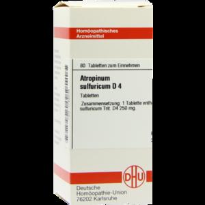 ATROPINUM SULFURICUM D 4 Tabletten