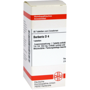 BERBERIS D 4 Tabletten